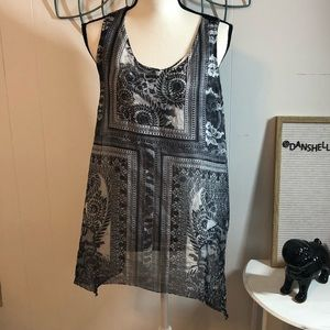 One World live and let live Sleeveless Top